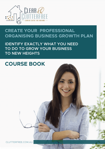 professsional organising course book